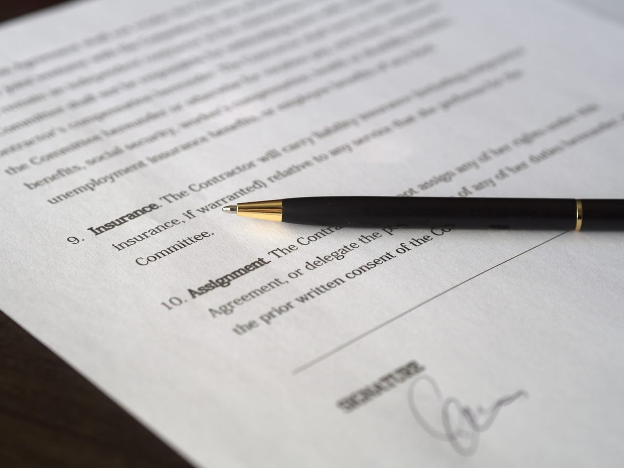 insurance-paperwork