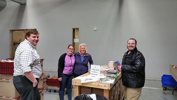 ELCO Volunteers @ Bernie's Book Bank